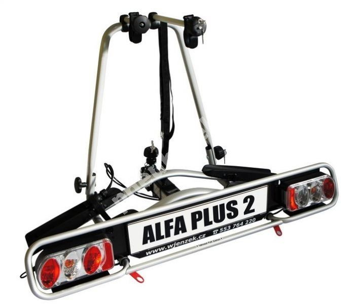 Nosič 2 kol na tažné zařízení - ALFA plus 2 - DOPRAVA ZDARMA
