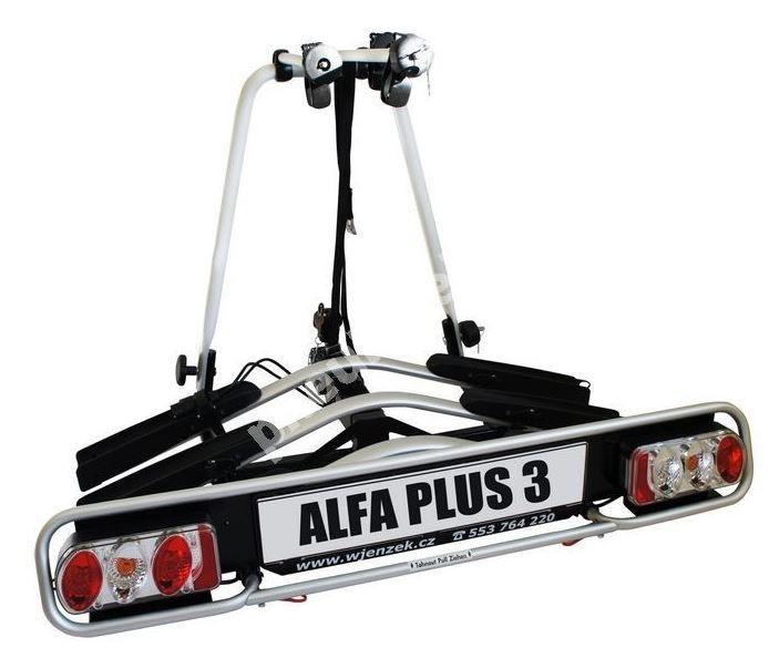 Nosič 3 kol na tažné zařízení  - ALFA plus 3 - DOPRAVA ZDARMA