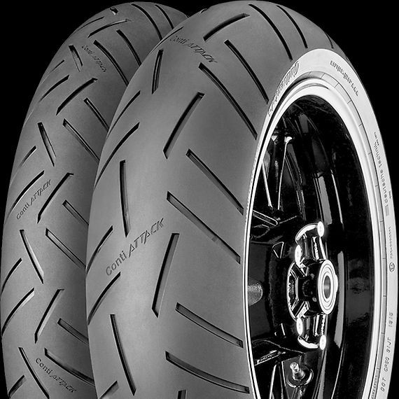 CONTINENTAL 120/60ZR17 55W  Conti Sport Attack 3 DOT0716 č.2