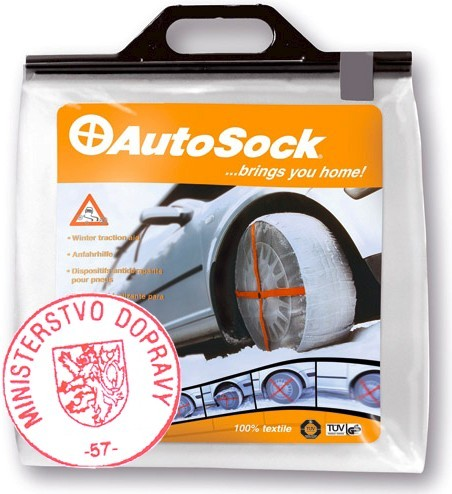 AutoSock 645 - textilní sněhové řetězy