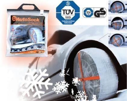 AutoSock 645 - textilní sněhové řetězy č.2
