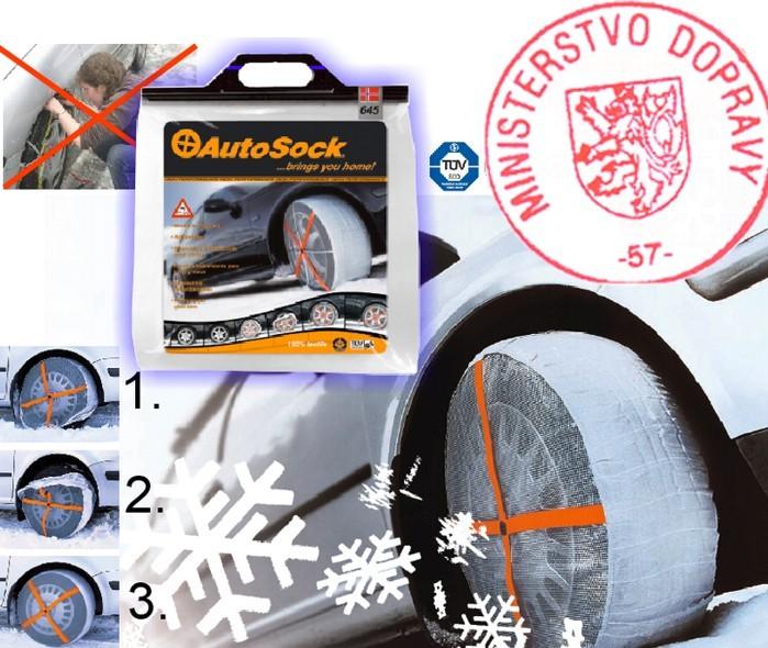 AutoSock 685 - textilní sněhové řetězy