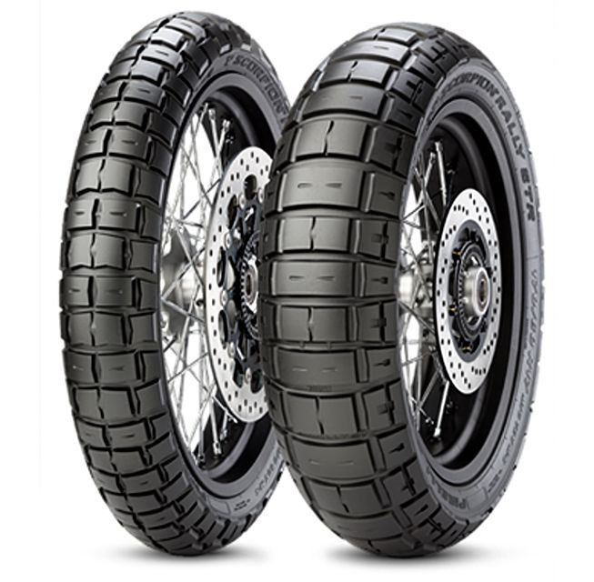 PIRELLI 120/70R17 58V TL Scorpion Rally STR č.2