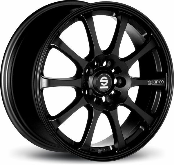 sparco Drift Black 7x17 4x100 ET37 63.4