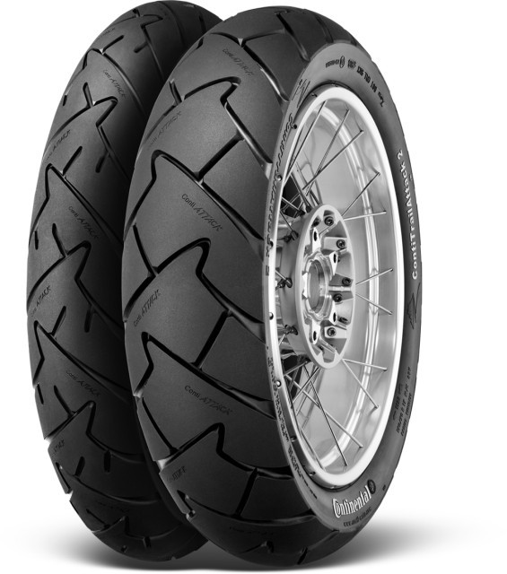 CONTINENTAL 120/70ZR17 58W TL  Conti Trail Attack 2 DOT2216 č.1