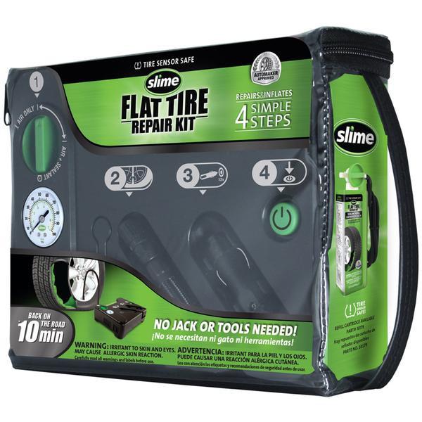 Automatická opravná sada Slime Flat Tyre Repair Kit