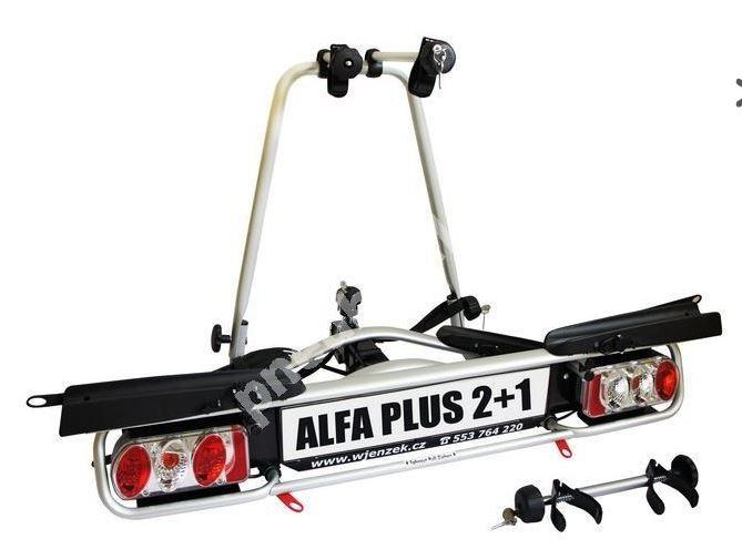 Nosič 3 kol na tažné zařízení - Alfa PLUS 2+1 - DOPRAVA ZDARMA