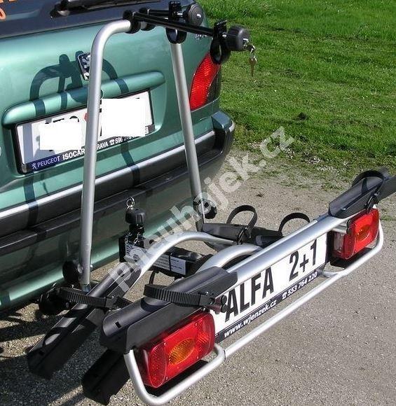 Nosič 3 kol na tažné zařízení - Alfa PLUS 2+1 - DOPRAVA ZDARMA č.4